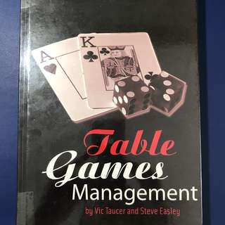 Table Games Management
