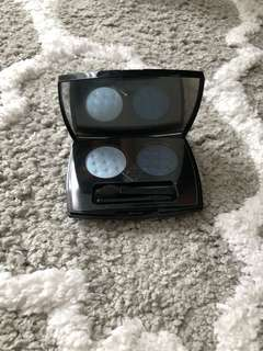 BN Lancome Duo Blue Eyeshadow Colour Palette