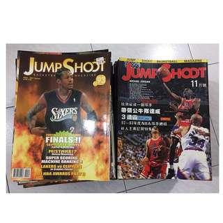JUMP SHOOT籃球雜誌 1-93期