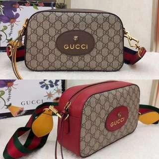 👍🏻BEST SELLING Gucci Supreme Neo Vintage Camera Bag