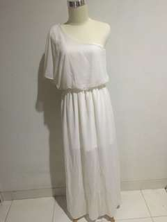 New look one shoulder long dress