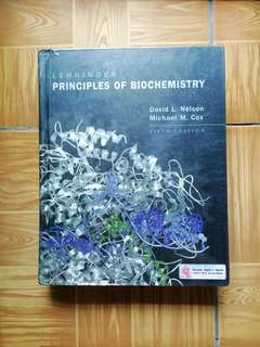Lehninger Principles of Biochemistry 5th edition