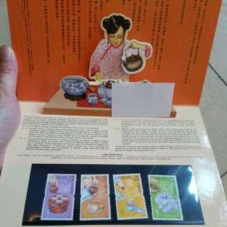 香港 郵票 套摺 14
