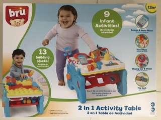 Bru 2 in 1 activity table