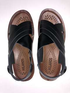 Mandals - Black/Brown