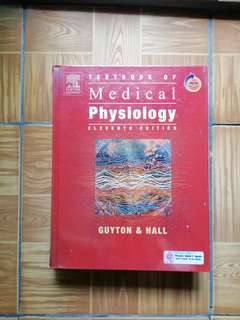 Textbook of Medical Physiology 11th edition (Guyton & Hall)