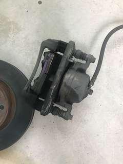 Honda stream rn6 brake kit