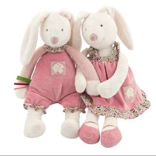 Instock - Joel, the bubbly bunny toy, baby infant toddler girl boy children sweet kid happy abcdefgh so pretty