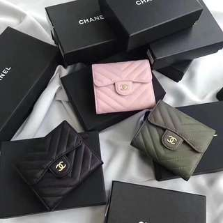 Chanel Chevron Wallets