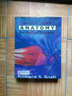 Clinical Anatomy for Medical Students, Richard S. Snell, 5th Edition