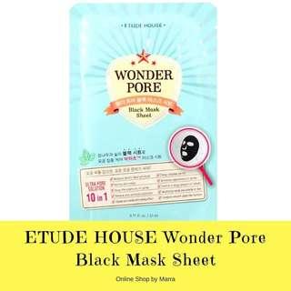 ETUDE HOUSE Black Mask Sheet