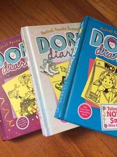 Dork Diaries books 2,4,5
