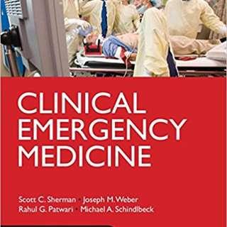 Clinical Emergency Medicine (Lange) Scott C. Sherman, Weber, Patwari & Schindlbeck Published 2014