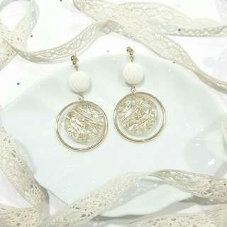 • Classic • Handmade Earstuds Earrings • Dangling