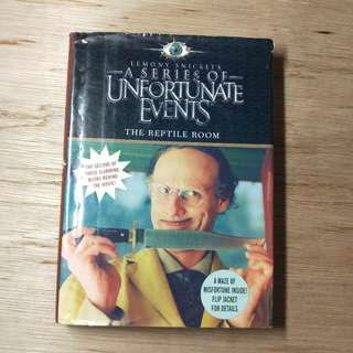 A Series Of Unfortunate Events Book The Second The Reptile Room By Lemony Snicket