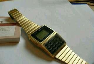 Data bank vintage casio watch