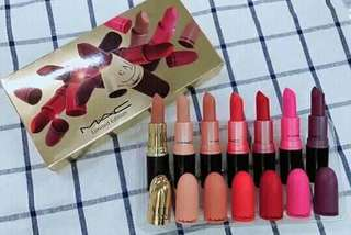 MAC SET LIPSTICK  Sale!! Sale!! Sale!!! 7pcs set Pre order #350pesos only