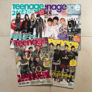 (CLEARANCE) Teenage Magazines