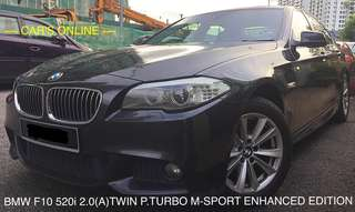 BMW F10 520i 2.0(A)TWIN POWER TURBO M-SPORT ENHANCED