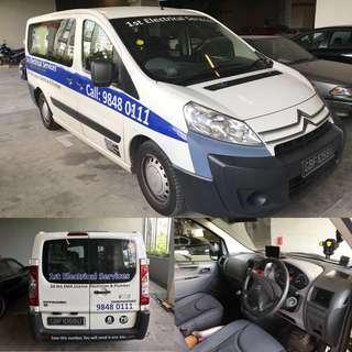 Citroen Combi diesel Van For Rental