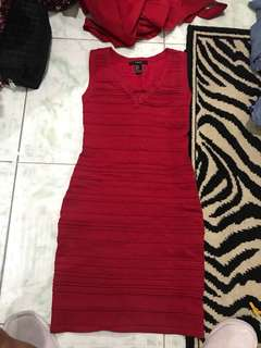 "REPRICED!! ""Forever 21"" bandage/ bodycon/ bodyfit Dress"