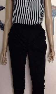 Stripe top jumpsuit