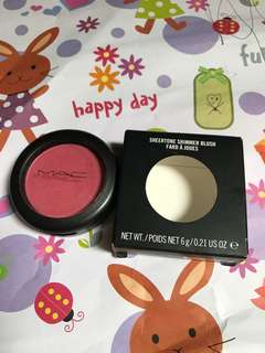 MAC Powder Shimmer Blush Dollymix Full Size