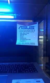 Cicilan TANPA CC Asus A442UF Free 1x Angsuran