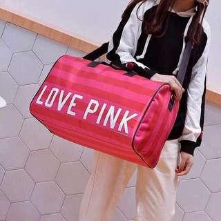 Love Pink Travel Bag
