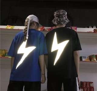 電爆你 反光閃電情侶潮T