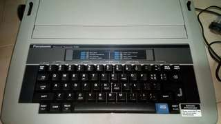 Panasonic typewriter (more than 25 years old)