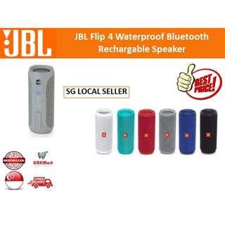 JBL Flip 4 Waterproof Bluetooth RECHARGEABLE Speaker