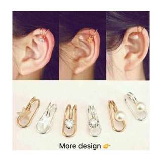 Ear cuff no piercings (1pc)