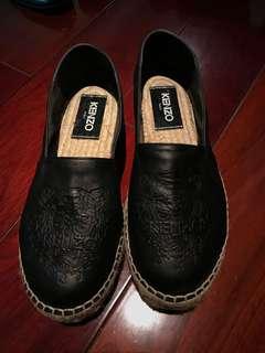 Kenzo leather flats