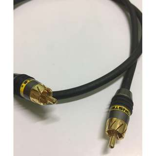 Monster High Performance Video Cable RCA ( 1 Meter )