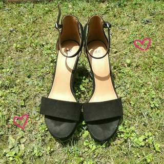 H&M Wedges #Letgo50