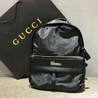 Gucci Backpack Black Color