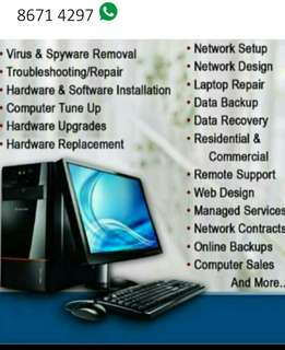 Onsite PC Repair, Network And Data Recovery Services