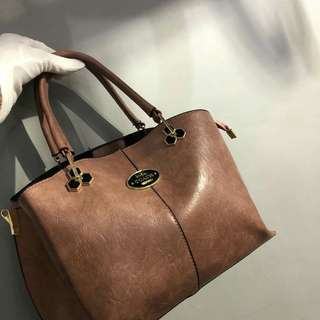 Coach Tote Bag Brown Color