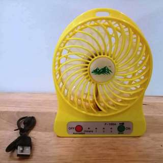 Rechargeable Usb Port Fan