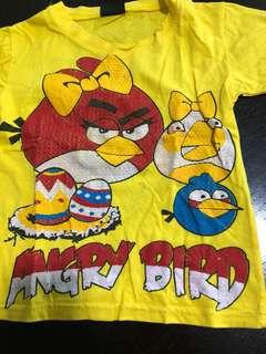 Angry Bird's tshirt / top