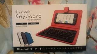 Bluetooth keyboard for smartphone藍牙鍵盤連套
