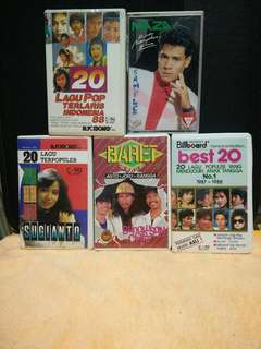 malay song cassette tapes 1 for $10