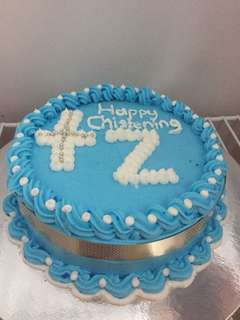 1layer christening moist chocolate cake