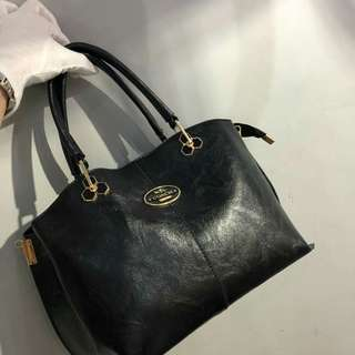 Coach Tote Bag Black Color