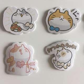 Fat Cat stickers