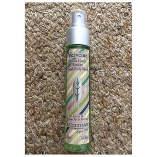 l'occitane verveine fresh body mist