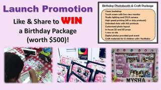Win O'Laugh Studio Photobooth Package