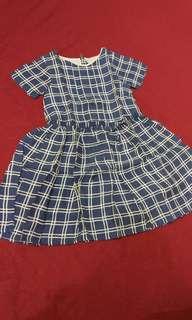 Burberry Dress Authentic Original Anak Perempuan Girl
