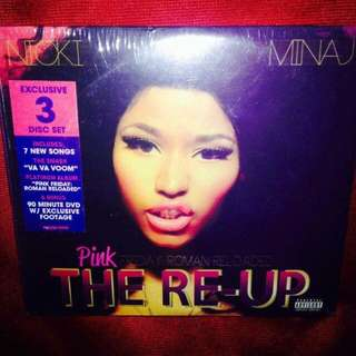 Nicki Minaj	-	The RE-UP - Pink Friday Roman Reloaded (DVD+2CD)